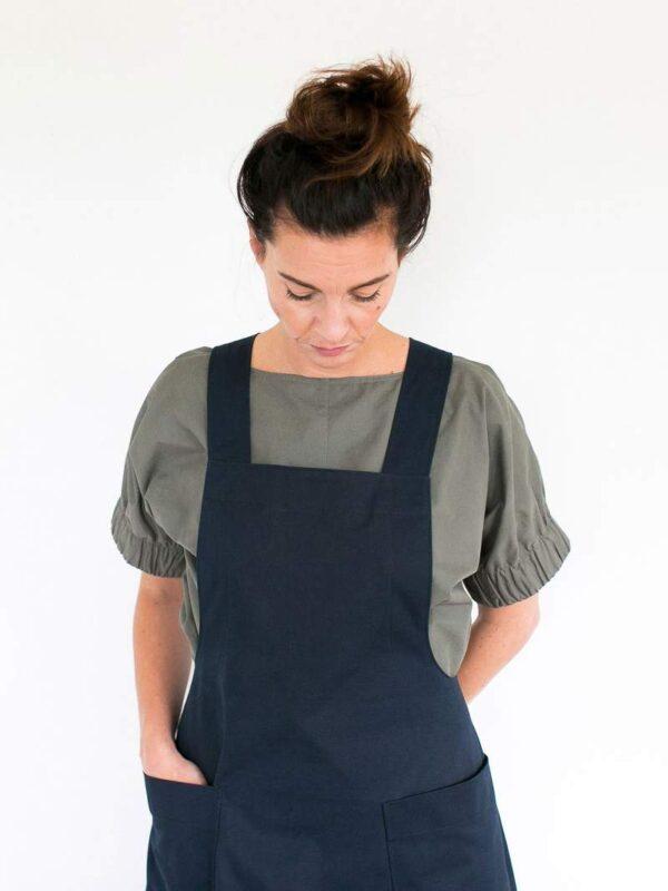 Stoffwechsel Meterweise | APRON DRESS PATTERN Dresses