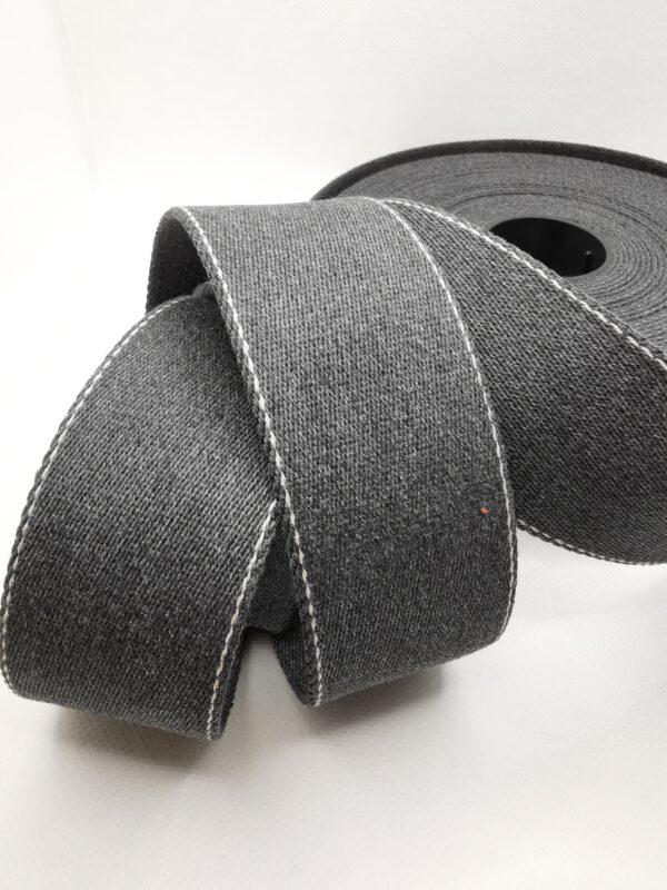 Stoffwechsel Meterweise | GB40mm 435proMeter grau streifen scaled