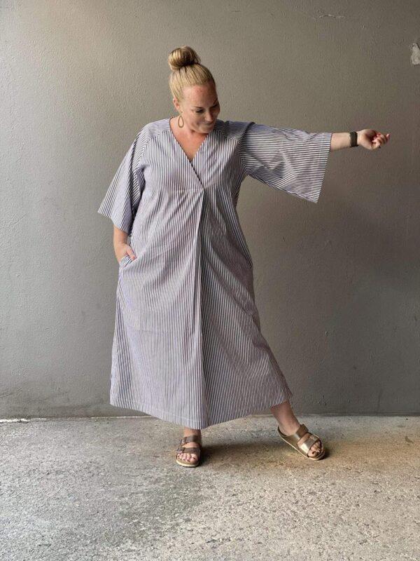 Stoffwechsel Meterweise | KAFTAN DRESS PATTERN Dresses