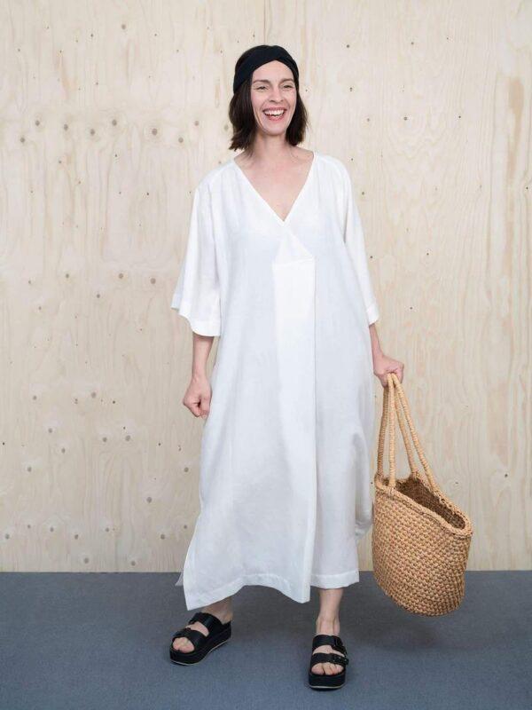 Stoffwechsel Meterweise | KAFTAN DRESS PATTERN Dresses1