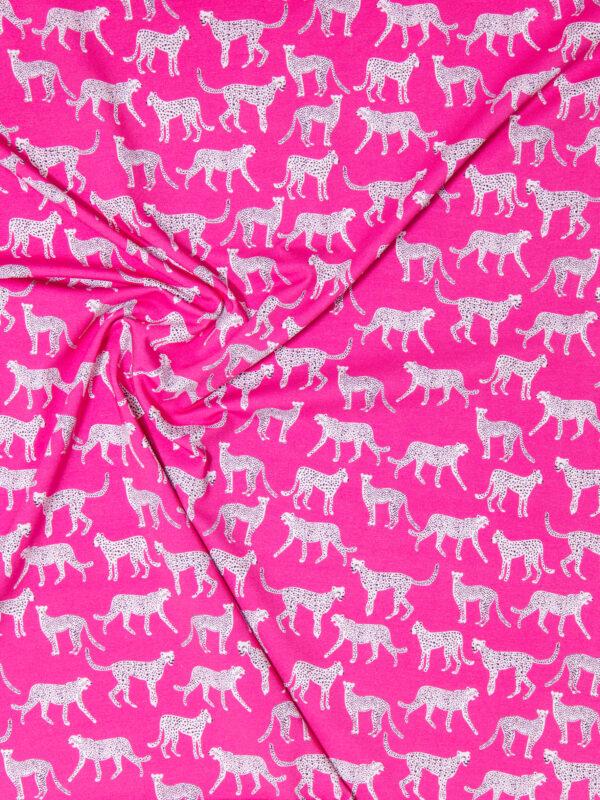 Stoffwechsel Meterweise | Baumwolljersey Leopard
