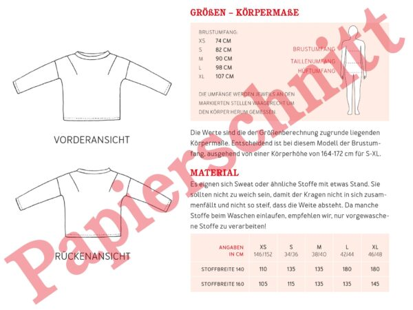 Stoffwechsel Meterweise   FrauISA Papierheader2 01