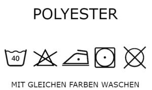 Stoffwechsel Meterweise | Waschanleitung Polyester